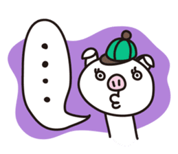 Pig'n cho sticker #1124872