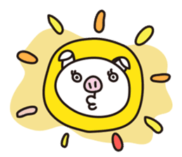Pig'n cho sticker #1124880
