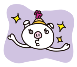 Pig'n cho sticker #1124881