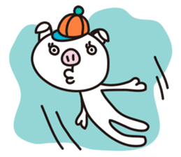 Pig'n cho sticker #1124890