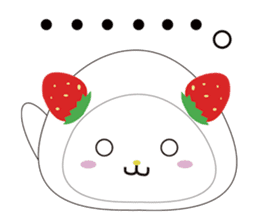 Daifuku cat sticker #1125147