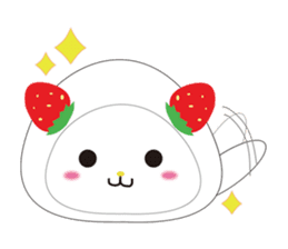 Daifuku cat sticker #1125150