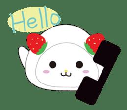 Daifuku cat sticker #1125154