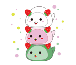 Daifuku cat sticker #1125157