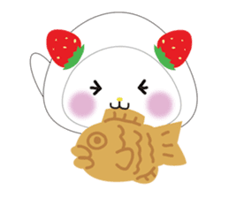 Daifuku cat sticker #1125158