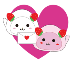 Daifuku cat sticker #1125160