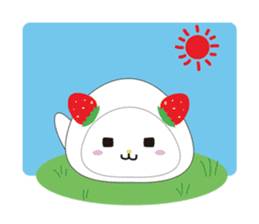 Daifuku cat sticker #1125163