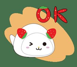 Daifuku cat sticker #1125165