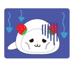 Daifuku cat sticker #1125170