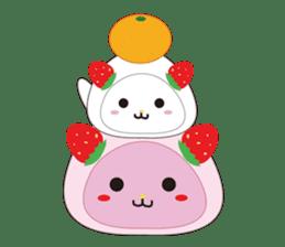 Daifuku cat sticker #1125174