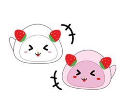 Daifuku cat sticker #1125178