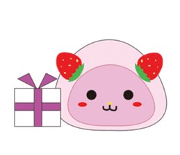 Daifuku cat sticker #1125182