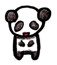 sticker of the PANDA sticker #1128192