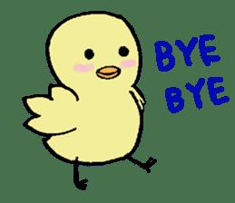 Chick-egg sticker #1130430