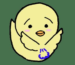 Chick-egg sticker #1130431