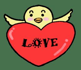 Chick-egg sticker #1130437