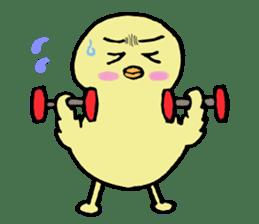 Chick-egg sticker #1130439