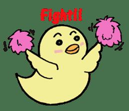 Chick-egg sticker #1130446