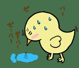 Chick-egg sticker #1130454