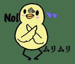 Chick-egg sticker #1130457