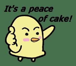 Chick-egg sticker #1130461