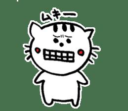 Cat, daily life of Mameko sticker #1131749