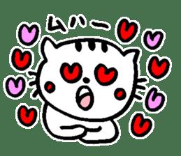 Cat, daily life of Mameko sticker #1131757