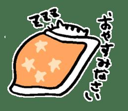 Cat, daily life of Mameko sticker #1131758