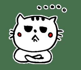 Cat, daily life of Mameko sticker #1131759