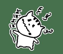 Cat, daily life of Mameko sticker #1131760