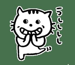 Cat, daily life of Mameko sticker #1131769