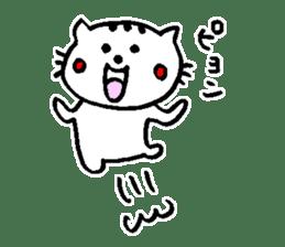 Cat, daily life of Mameko sticker #1131771