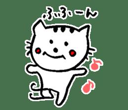 Cat, daily life of Mameko sticker #1131778