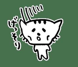Cat, daily life of Mameko sticker #1131779