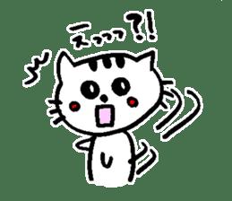 Cat, daily life of Mameko sticker #1131780