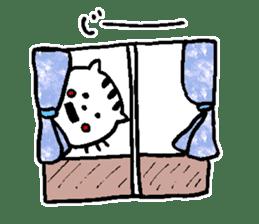 Cat, daily life of Mameko sticker #1131781