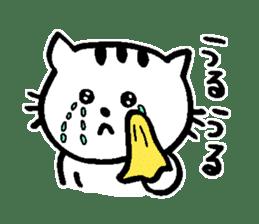 Cat, daily life of Mameko sticker #1131785