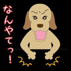 Labrador CHOSUKE speaking KANSAI dialect