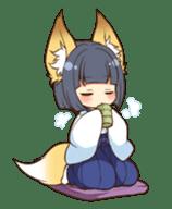 Miko sister of fox sticker #1133828