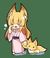 Miko sister of fox sticker #1133842