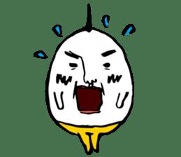 egg man sticker #1134266