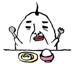egg man sticker #1134301