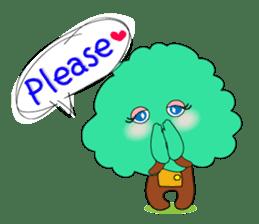 Fairy of the tree sticker #1134606
