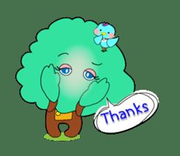 Fairy of the tree sticker #1134608