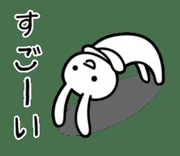 Silly Rabbit sticker #1135548