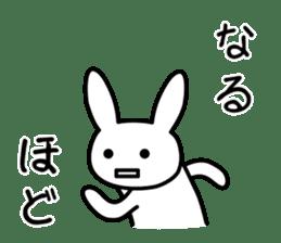 Silly Rabbit sticker #1135550