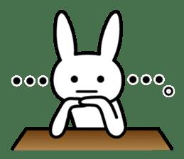 Silly Rabbit sticker #1135553