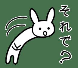 Silly Rabbit sticker #1135564