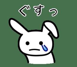 Silly Rabbit sticker #1135570