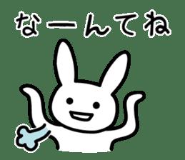 Silly Rabbit sticker #1135575